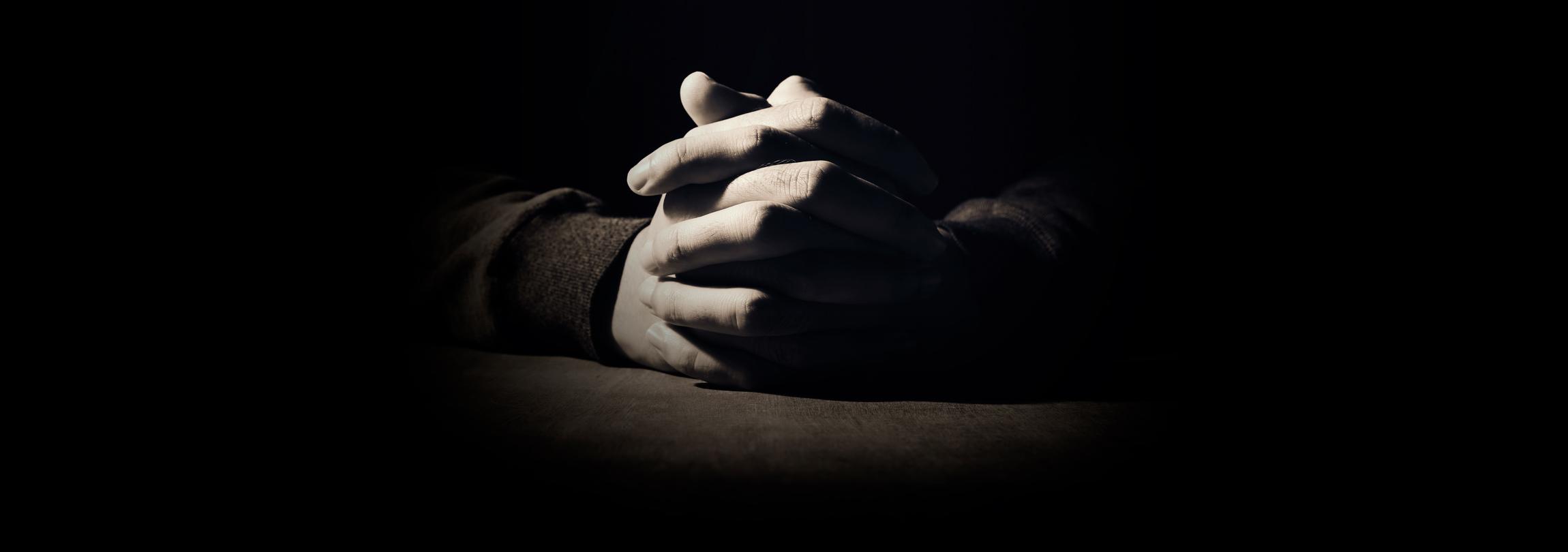 Quem não faz oração está perdido