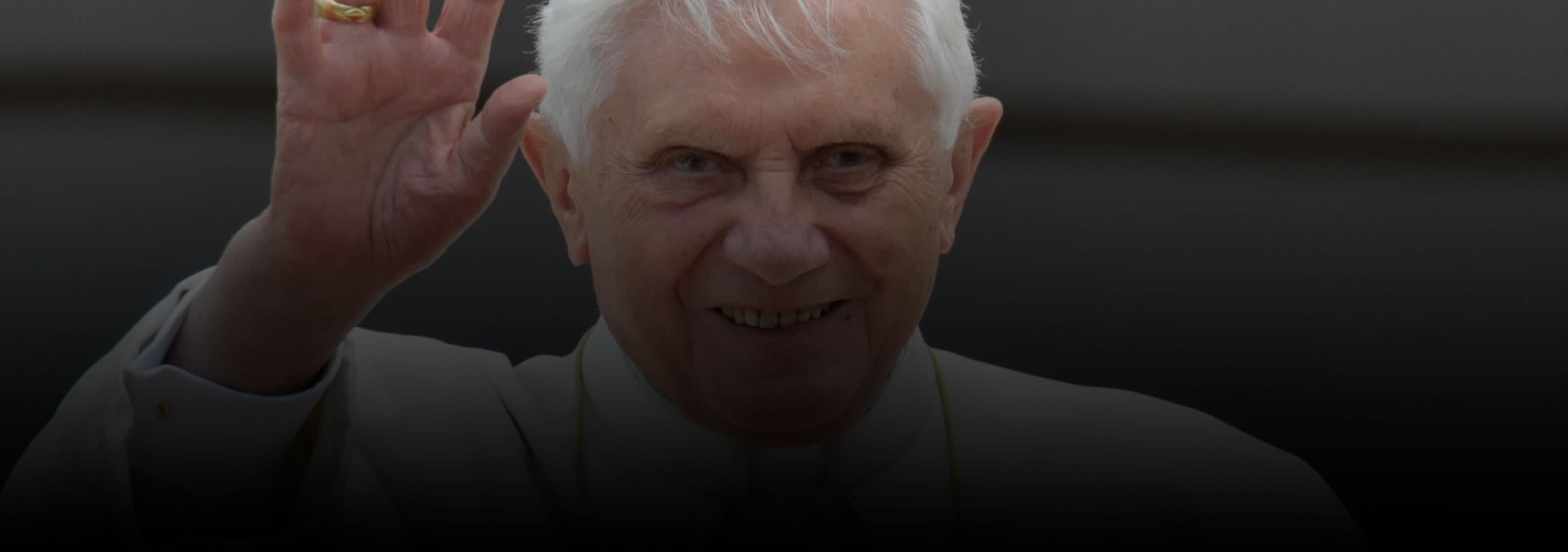 O adeus de um Papa