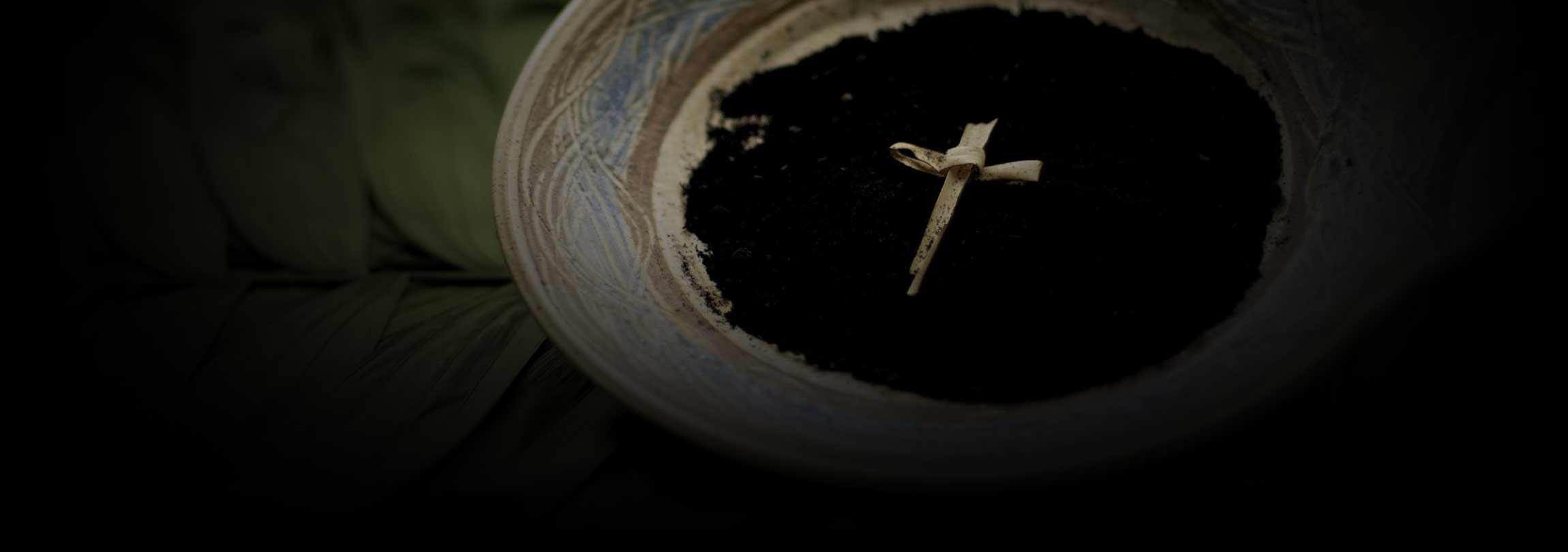 Quarta-feira de Cinzas: liturgia de morte