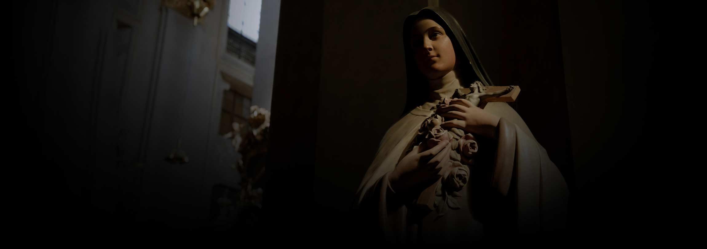 "A oferta de uma santa ""ao Amor Misericordioso"""