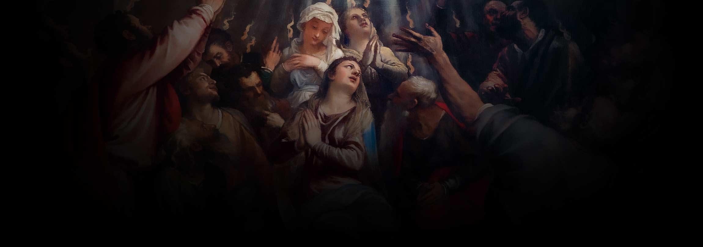 Depois de Pentecostes, os Apóstolos ficaram assim...