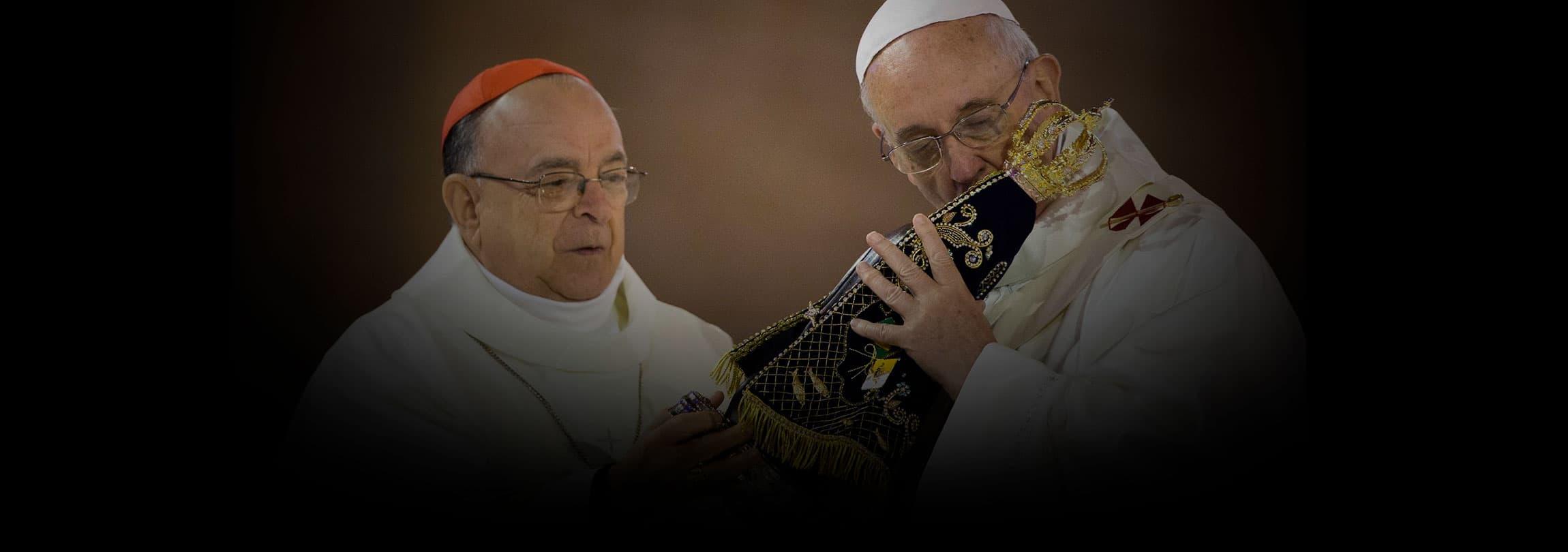 A devoção de Francisco, peregrino em Aparecida