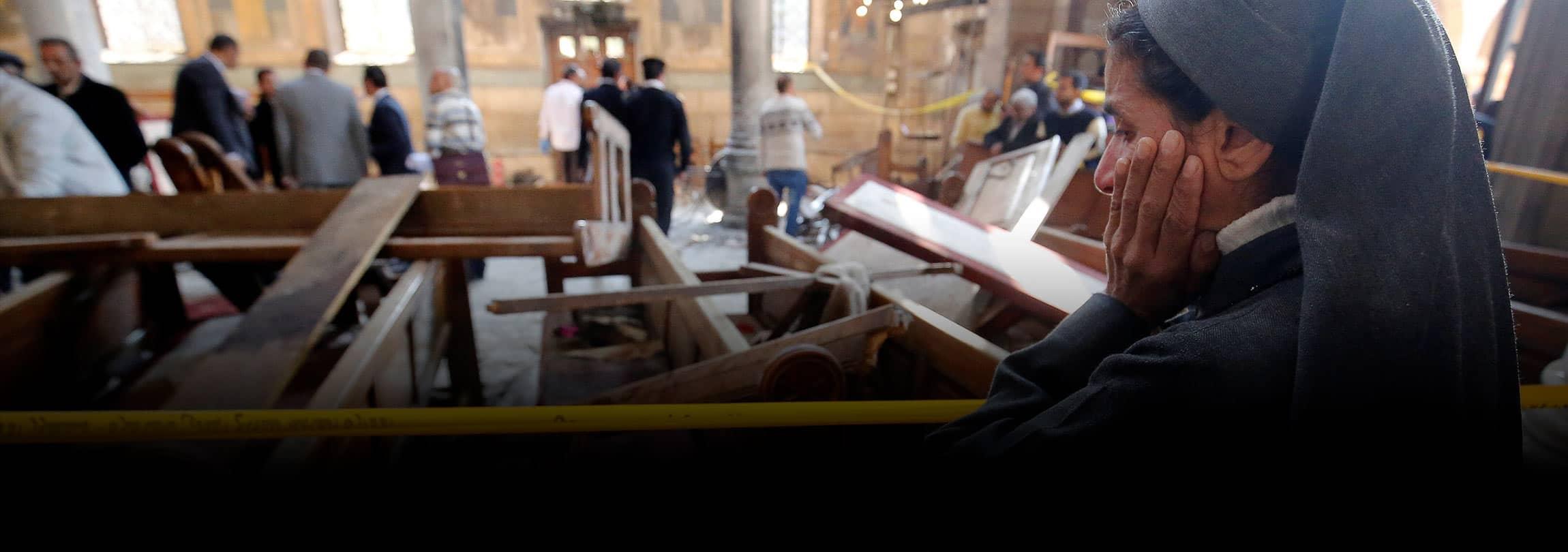 Os cristãos que sofrem no Egito