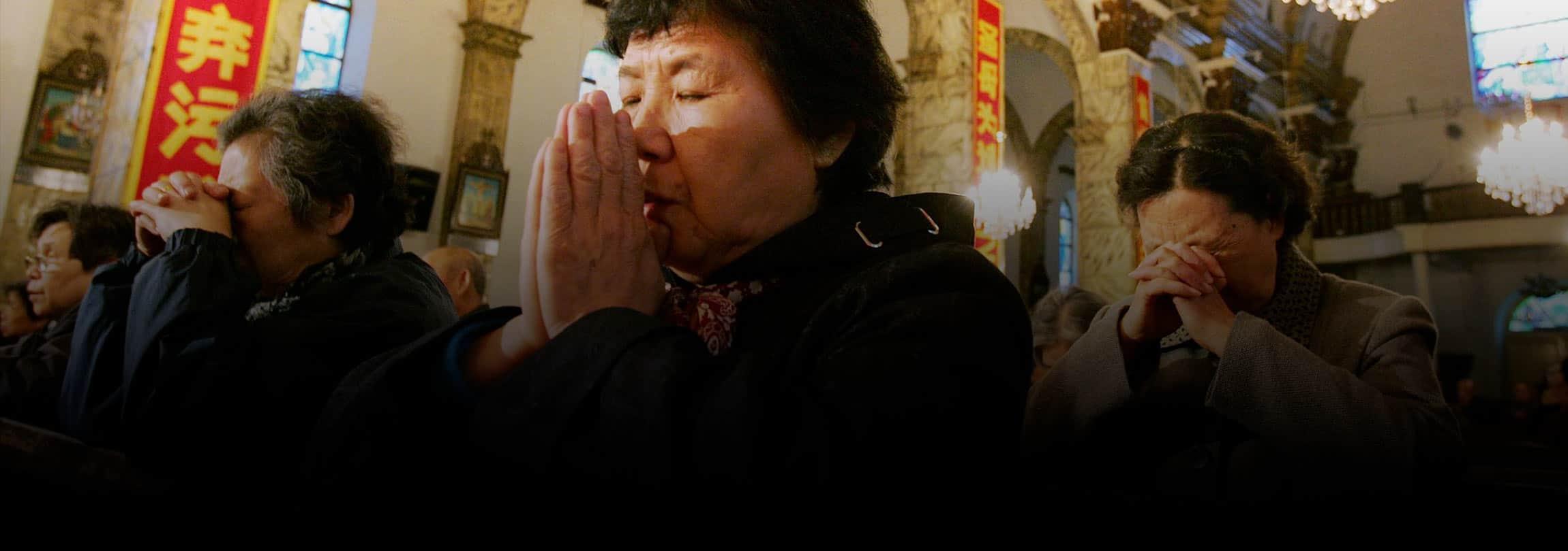 Os católicos clandestinos da China