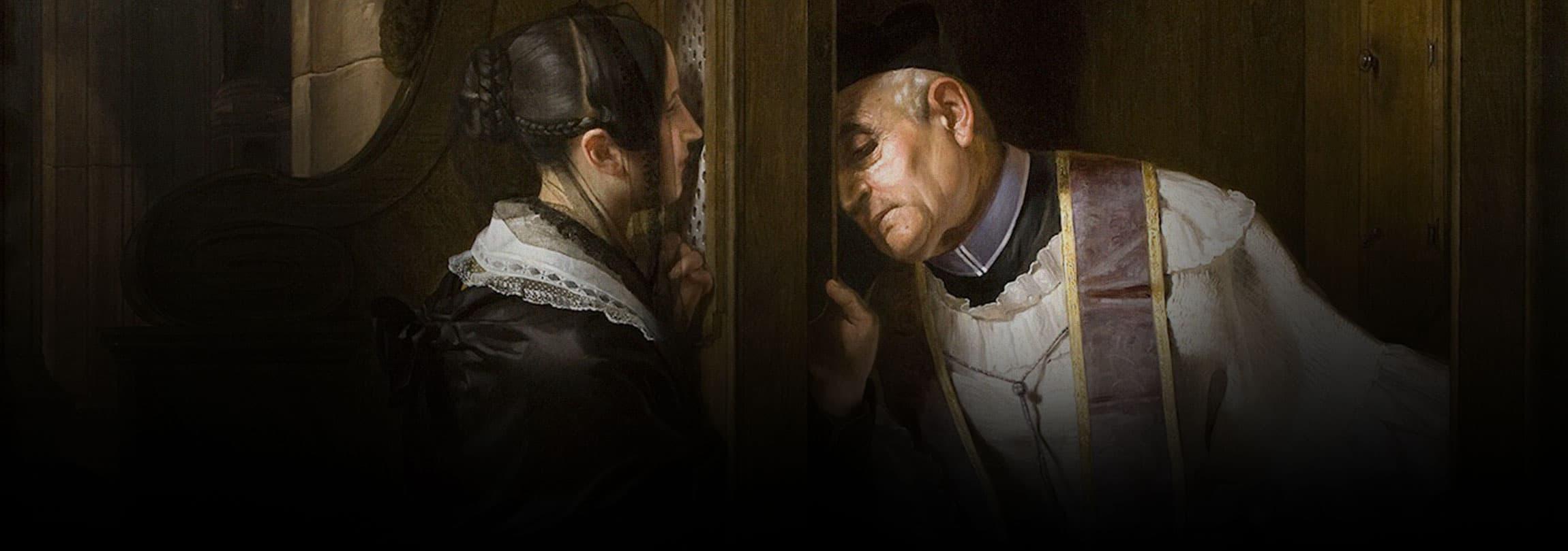 Católicos, voltem ao confessionário!