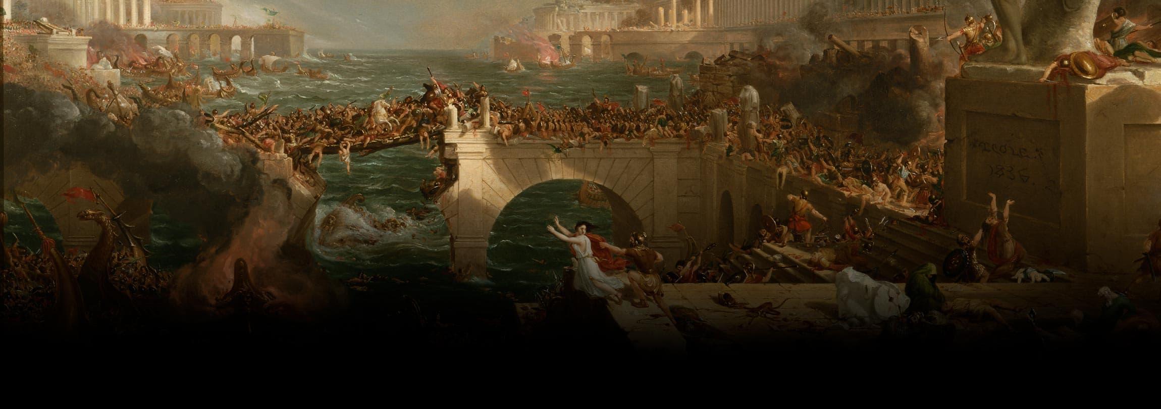 Os tempos de hoje, como nos tempos de Roma