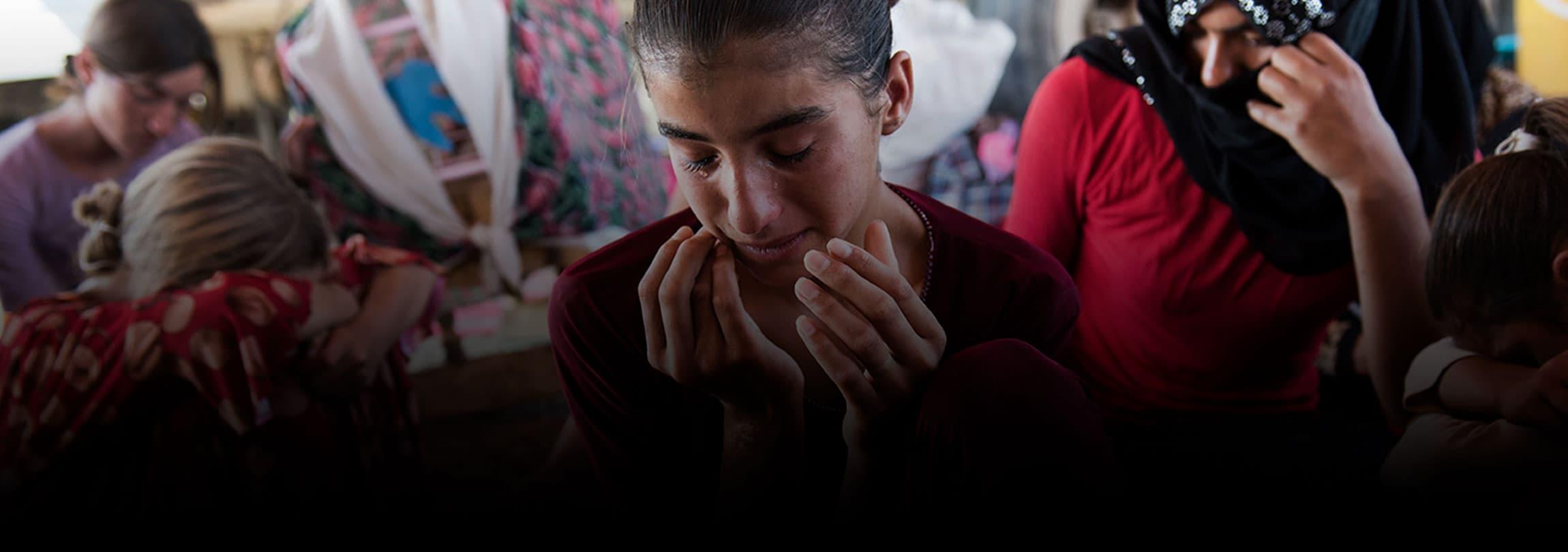 Reféns do Estado Islâmico são vendidas, estupradas e forçadas a abortar no Iraque