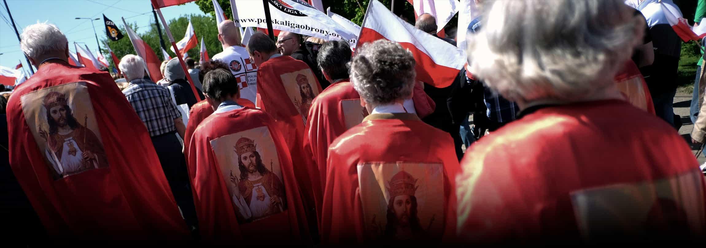 Jesus Cristo é entronizado como Rei da Polônia