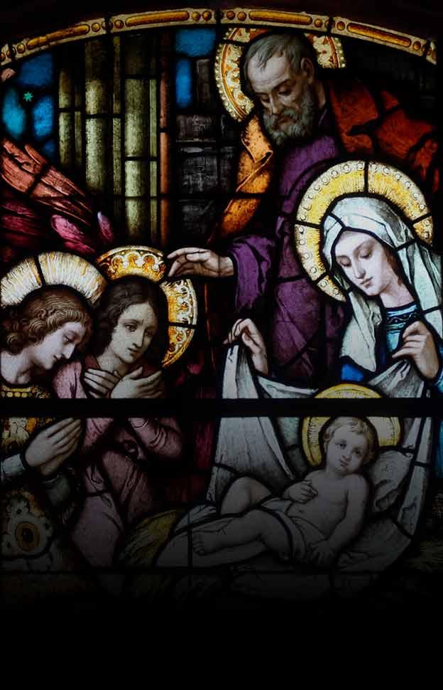 <p>Reflexões de Natal sobre os três nascimentos de Cristo, no tempo, nas almas e na eternidade.</p>